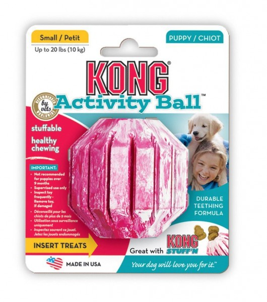 KONG PUPPY ACTIVITY BALL - M