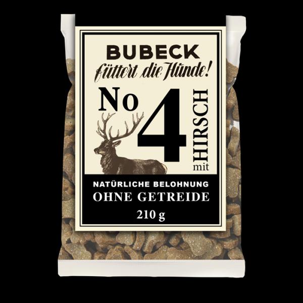 BUBECK No 4 mit Hirsch ohne Getreide 210 g