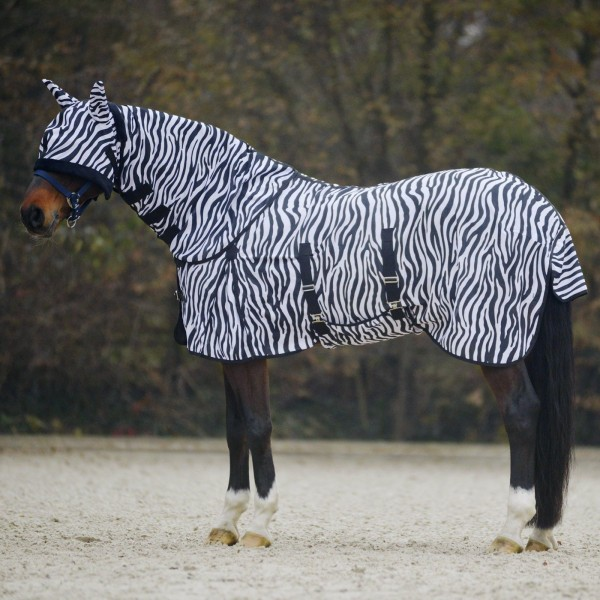 Fliegendecke Zebra 125 cm