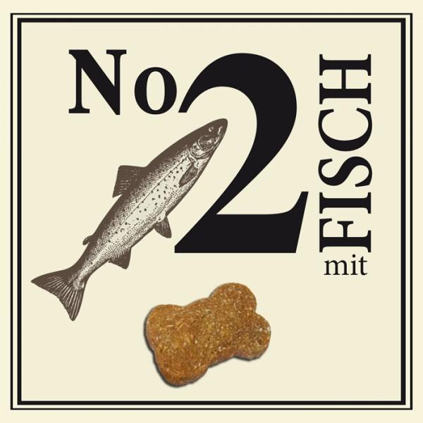 BUBECK No 2 mit Fisch gebacken ohne Getreide 210 g