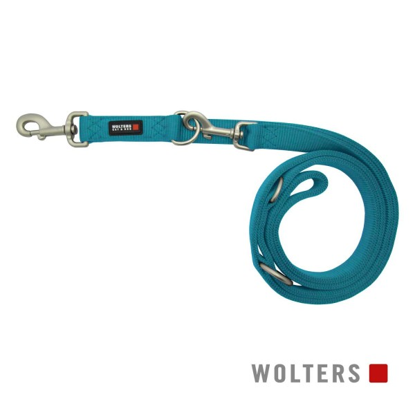 WOLTERS Leine Prof.Classic L 300cm x 20mm aqua