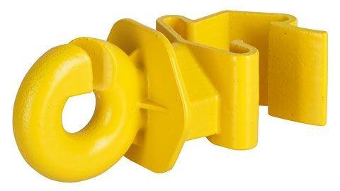 T-Post Ringisolator gelb 25 Stück
