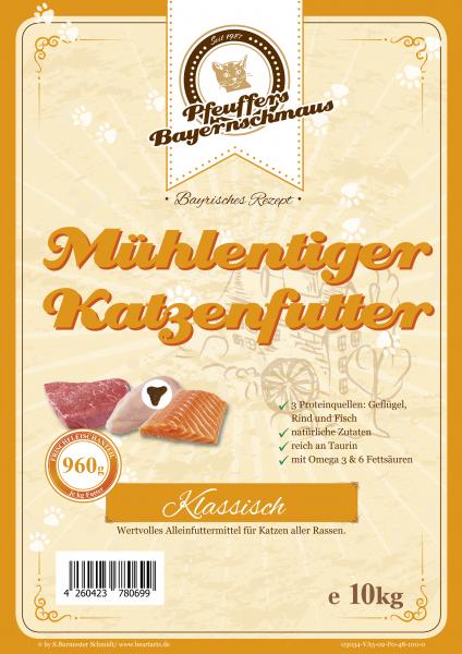 Pfeuffers Mühlentiger Katzenfutter (Mix) 10kg