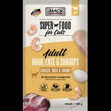 MAC´s Cat Pouch Pack Ente & Shrimps 100g