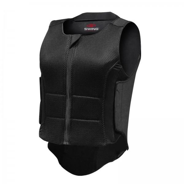 Swing Rückenprotektor P07, schwarz, Gr. Kind L