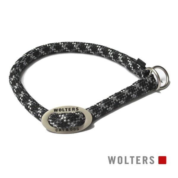 WOLTERS Schlupfhalsband Everest schw/gra 35-40x9