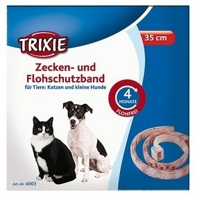 Trixie Flohschutzband für kleine Hunde und Katzen