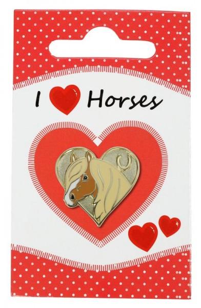 "Pferde-Pin ""I love Horses"""