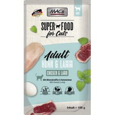MAC´s Cat Pouch Pack Pouch Pack Huhn & Lamm 100g