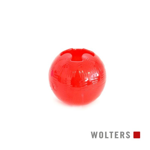 Wolters Spielball Bite-Me Strong medium 8,2cm rot