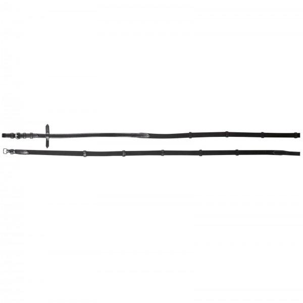 WEMBLEY Gurtzügel X-Line 19 mm, schwarz, Pony