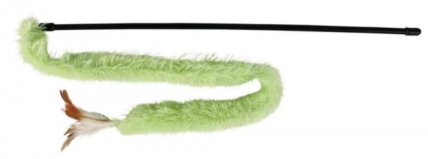 Spielangel mit Plüschband Maße: 48 cm
