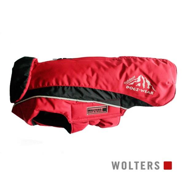 WOLTERS Skijacke Dogz Wear m.RV 60cm rot/schwarz
