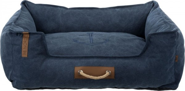 BE NORDIC Bett Föhr 80 × 60 cm dunkelblau