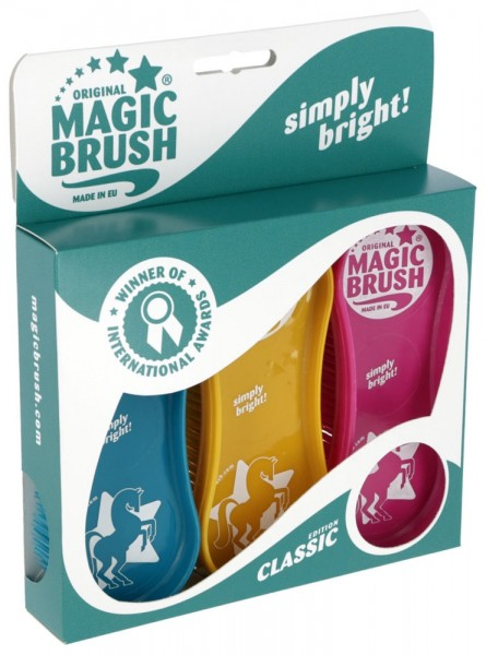Pferdebürstenset MagicBrush Set Classic