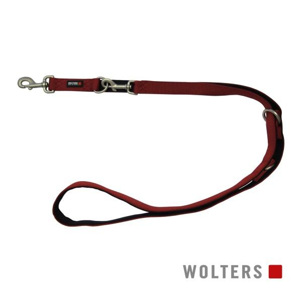 WOLTERS Leine Professional 200x20 rot/schwarz