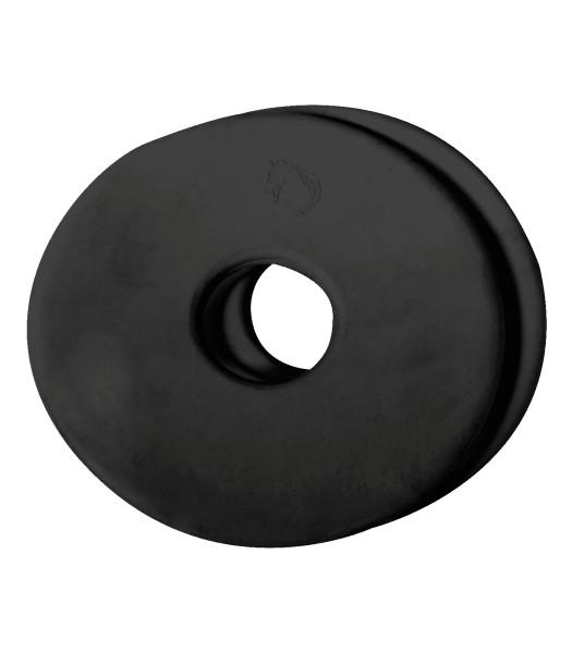 Gebiß-Vorlegescheiben paar schwarz