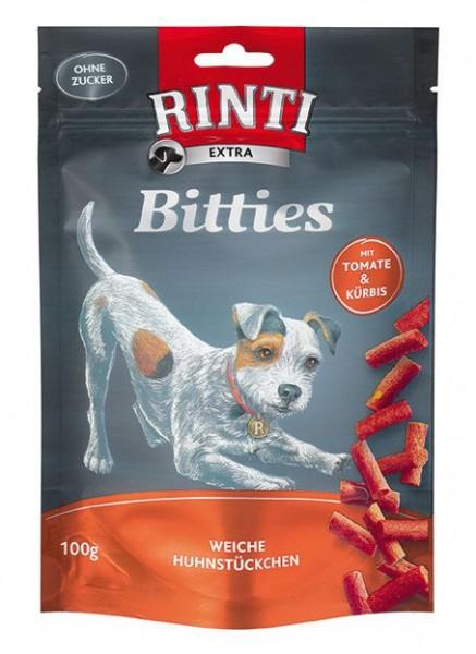 RINTI Extra Mini Bits 80% Huhn,Tomate, Kürbis 100g