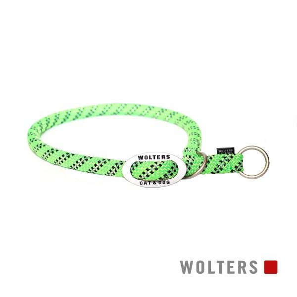 WOLTERS Schlupfhalsband reflekt lime/ sw 35x9