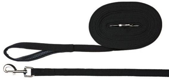 Trixie Schleppleine Gurtband 5m / 20 mm schwarz