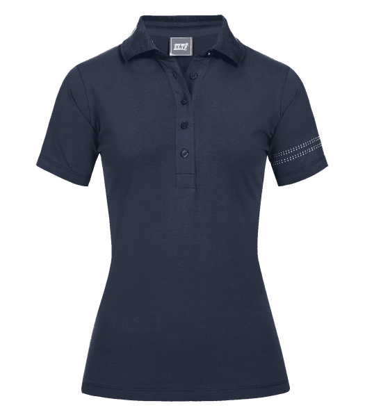Poloshirt BILBAO nachtblau Gr. L