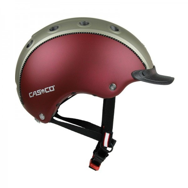 Casco Choice Turnier dunkelrot-olive mattU 52-56cm