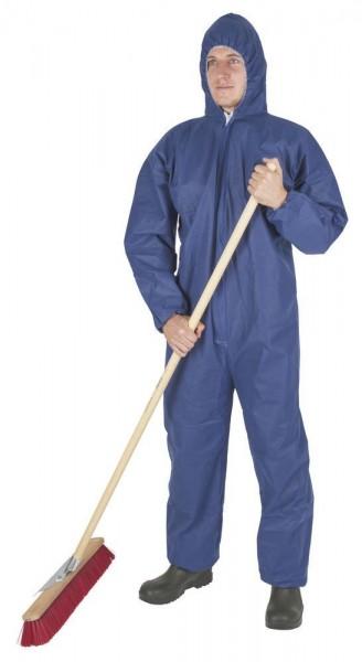 Einwegoverall blau XL