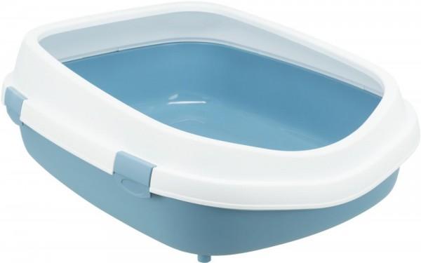 Trixie Katzentoilette PrimoXXL56×25×71cm blau/weiß