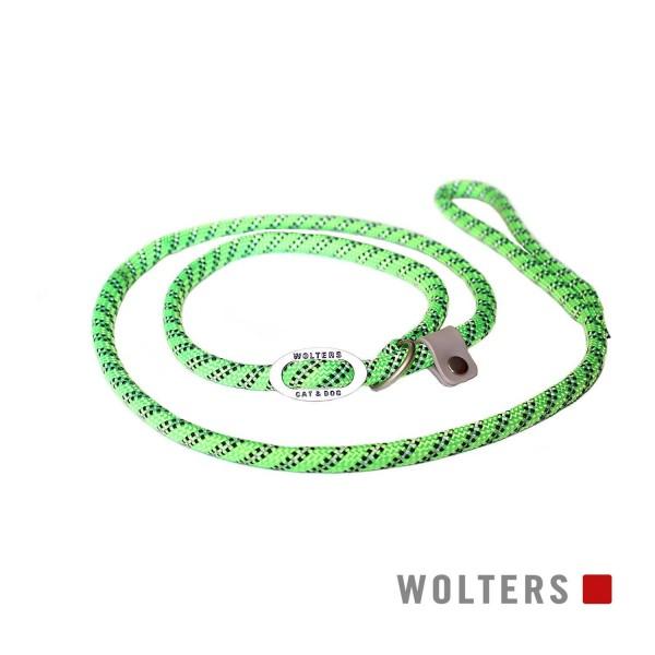 WOLTERS Moxonleine Everest reflekt lime / sw 180x9