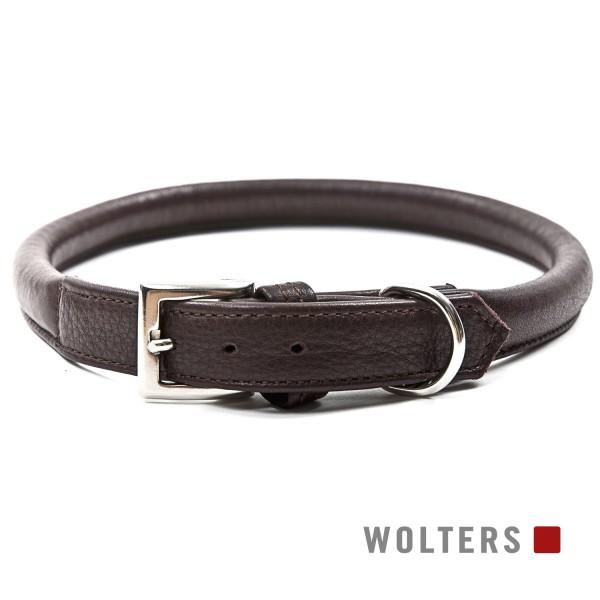 WOLTERS Halsband Terravita 60cm x 12mm kastanie