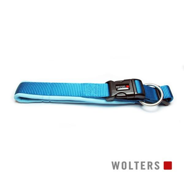 WOLTERS Halsband Prof. Comf. 35-40cm x 30mm aqua/a