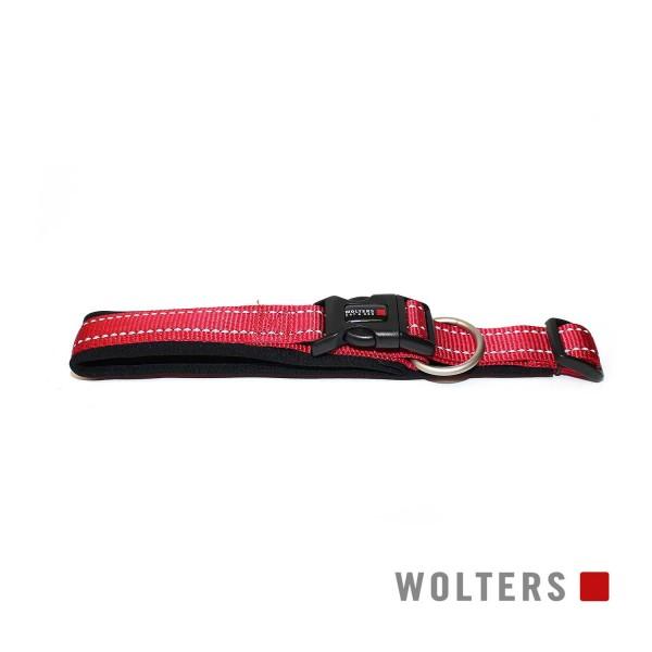 WOLTERS Halsband Soft&Safe reflek 30-35cm caye/sch