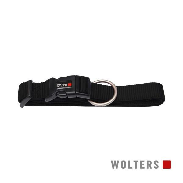 WOLTERS Halsband Prof extra breit M 28-40cm schwar