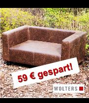 WOLTERS FirstClassLounge Gr.L 104x63x42cm antik-br