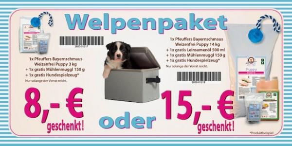 Pfeuffers Bayernschmaus Puppy Welpenpaket 3kg