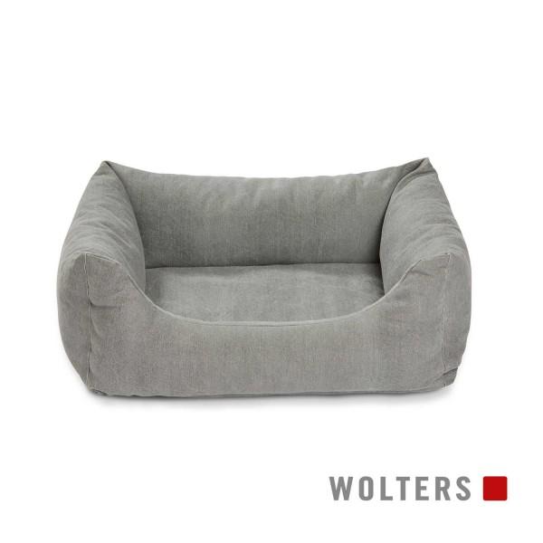 WOLTERS Green Line Lounge Gr.L 100x80 cm steingrau