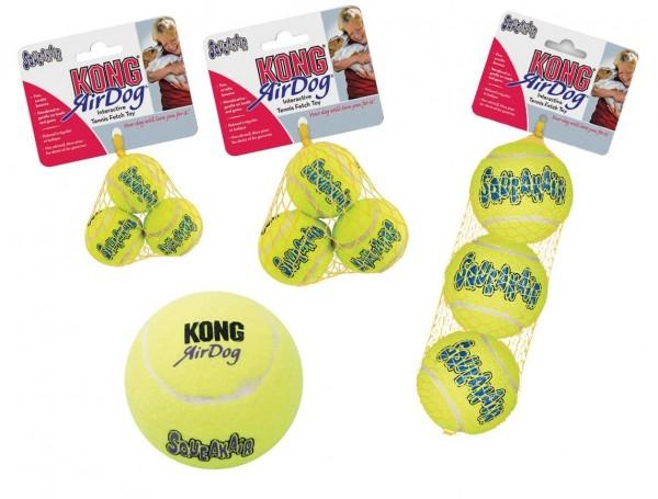 KONG Air Squeaker Tennis Ball XS (3 Stück)