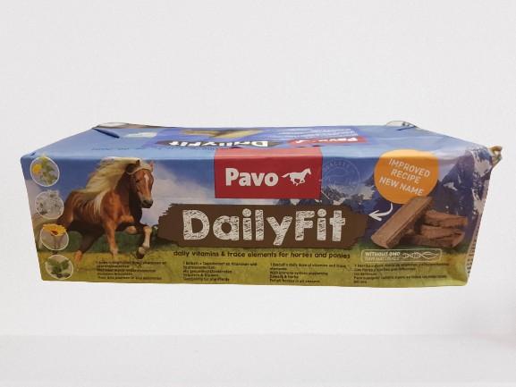 Pavo DailyFit Mineral Brickets mit Gratis Putzbox