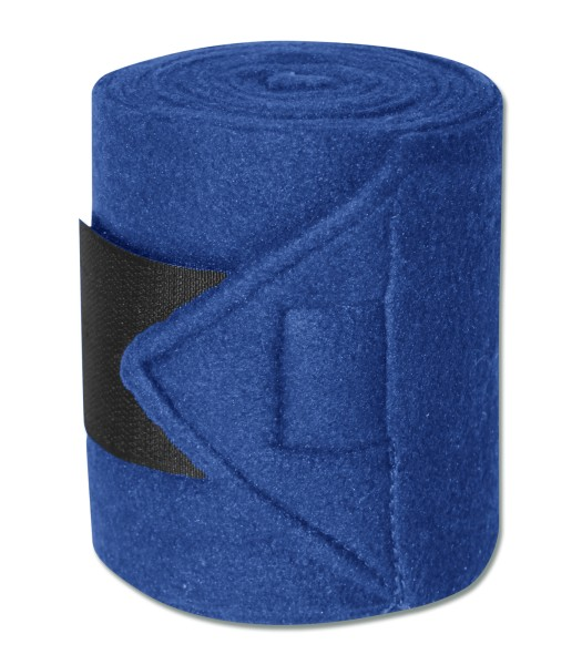 FLEECEBANDAGEN STAR, 4ER SET blau