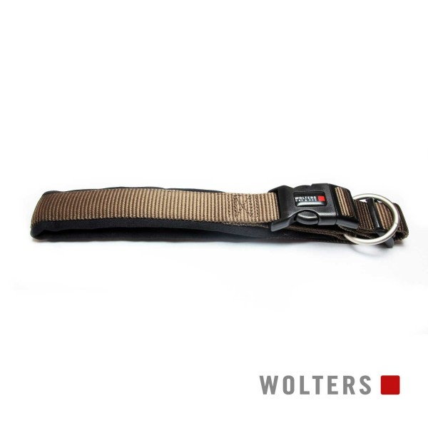WOLTERS Halsband Prof. Comfort 25-28 tabac/schwarz