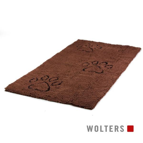 WOLTERS Dirty Dog Runner 120 x 60 cm braun