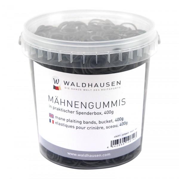 MÄHNENGUMMIS IM EIMER schwarz 400 G