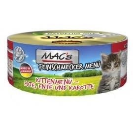 MAC´s Cat Feinschmecker Kitten Pute & Ente 100g