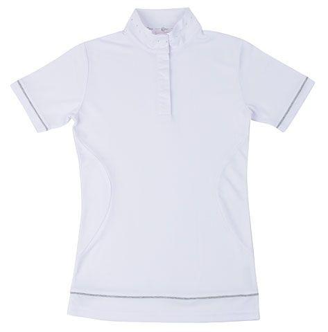 Poloshirt Competition Shirt Paula weiss Gr.140/146