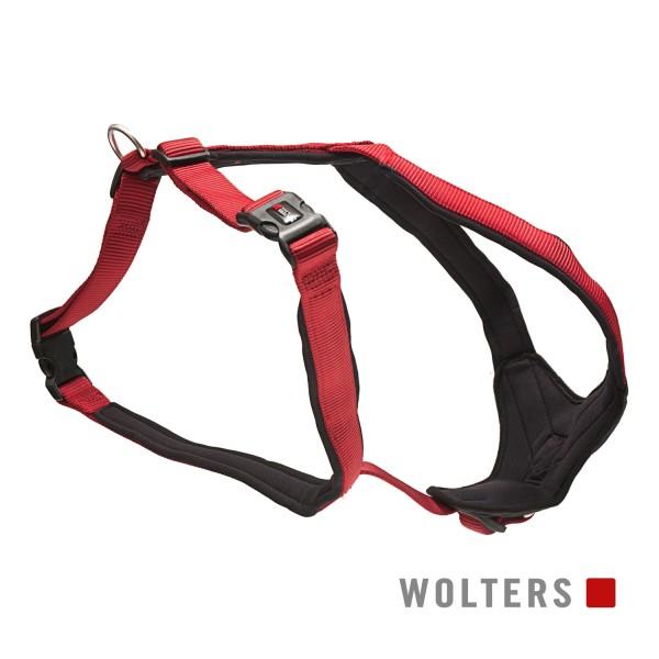 WOLTERS Geschirr Prof. Comfort 90-110 rot/schwarz
