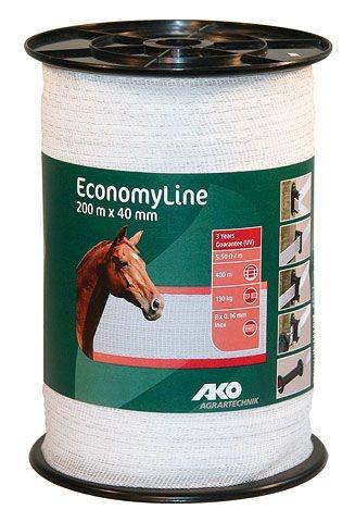Economy Breitband 40 mm/200m weiß