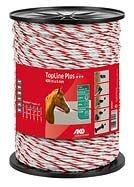 Seil Topline Plus 200 m 6mm TriCond weiß-rot