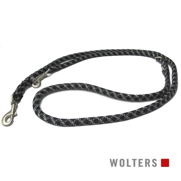 WOLTERS Leine Everest reflek. 300cmx9mm schwarz/gr