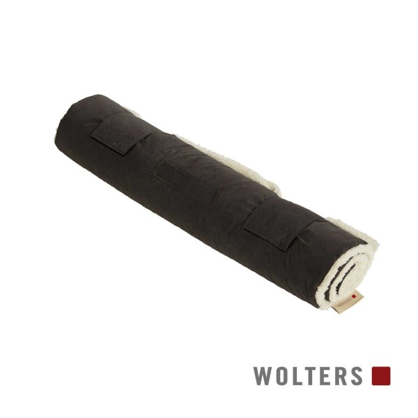 WOLTERS Reisedecke Vagabund 100 x 75cm grau