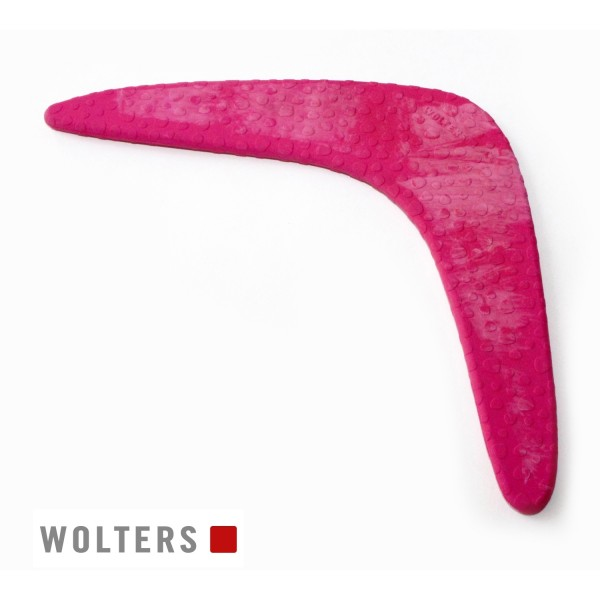 WOLTERS Boomerang Gr.M 150x150mm himbeer